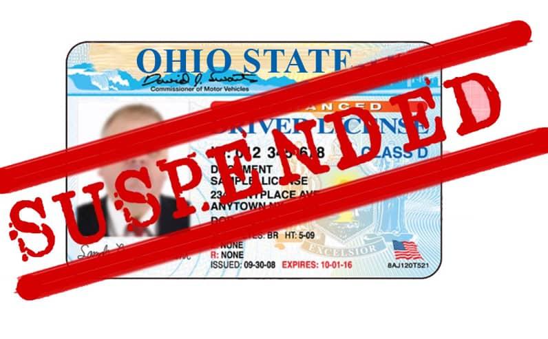 Suspended Ohio Driver's License